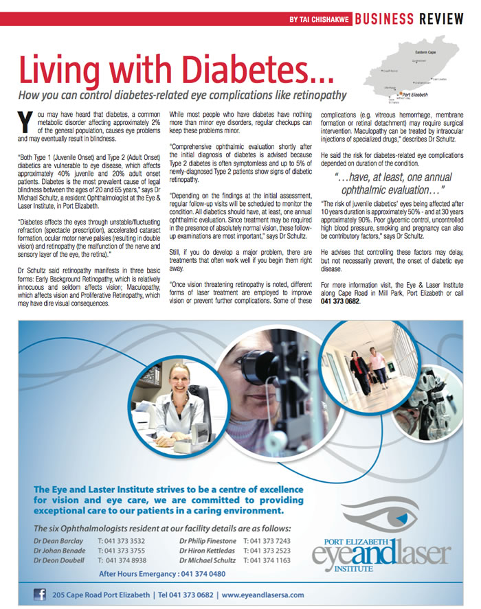 Living With Diabetes - August 2013